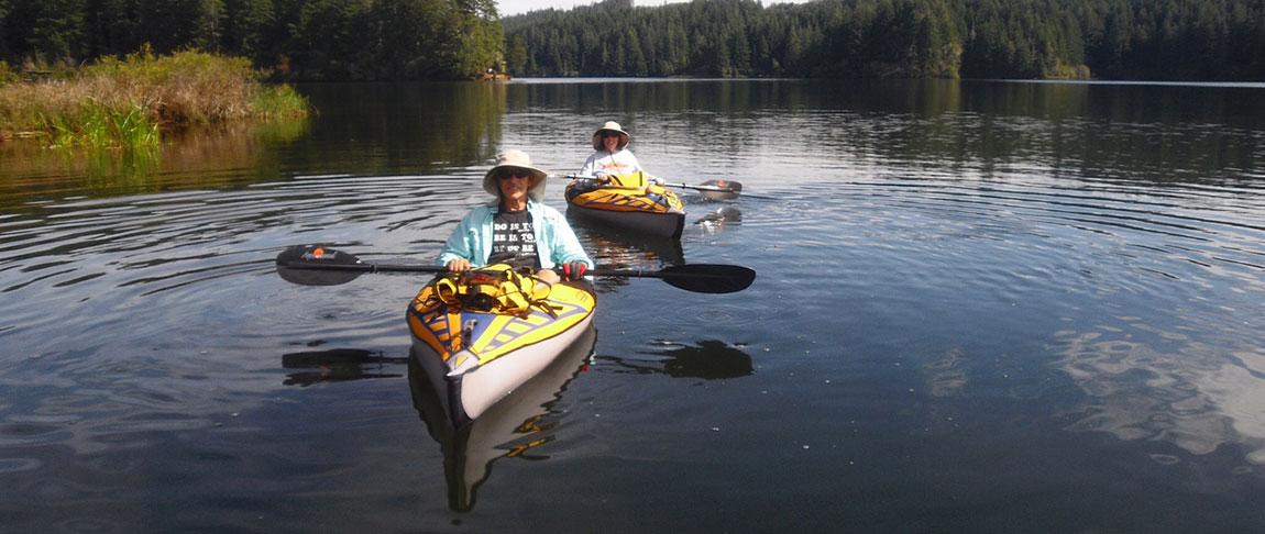 Amabassador Allen Paddling kayak