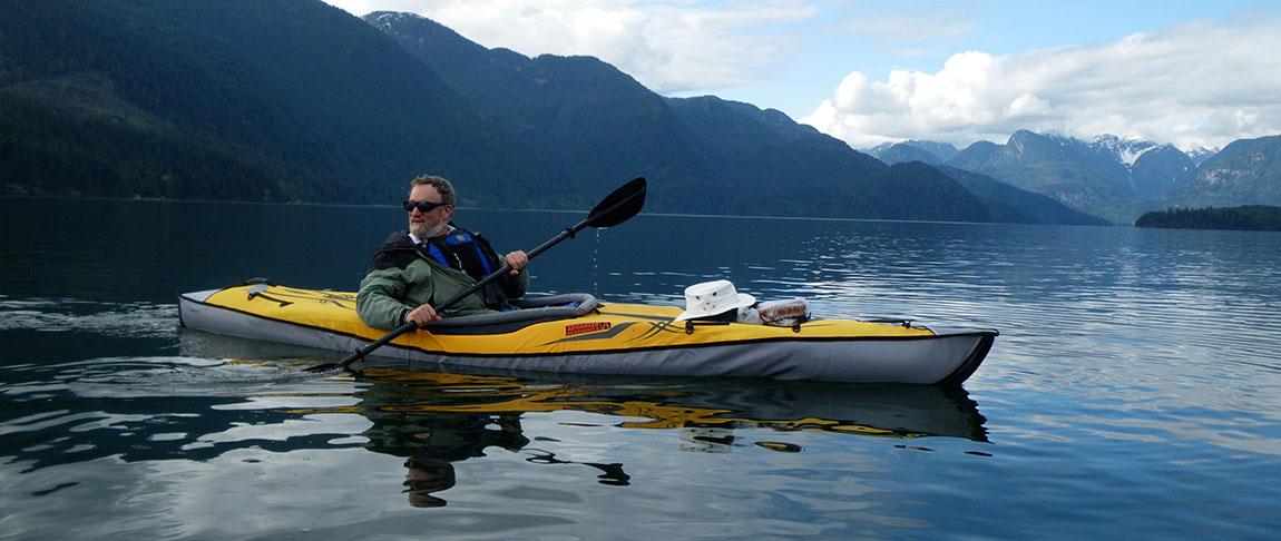 Amabassador Lee paddles BC Canada