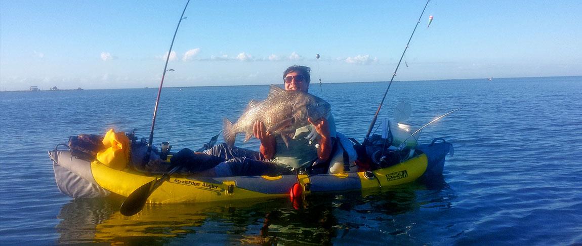 Amabassador Ruebin with his big catch